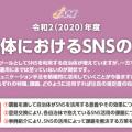 Zoomで講義【自治体におけるSNSの活用】をさせていただきました。